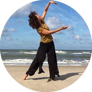 Yoga aan zee